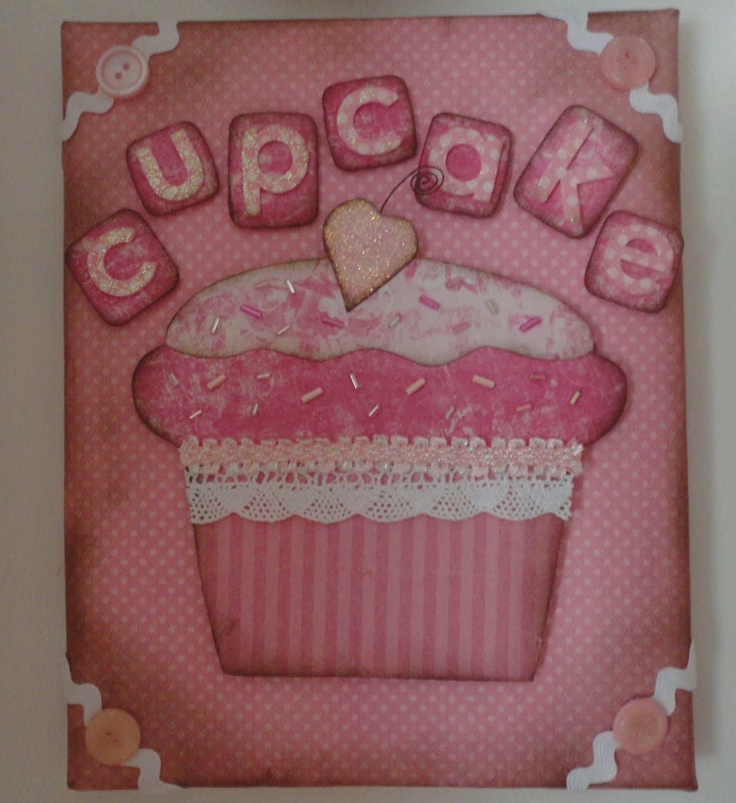 Cupcake Decor For Kitchen