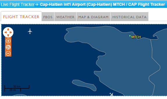 CAP HAITIAN LIVE FLIGHT TRACKER