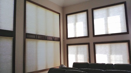 Cellular Shades by Bellagio Window Fashons Toledo OH