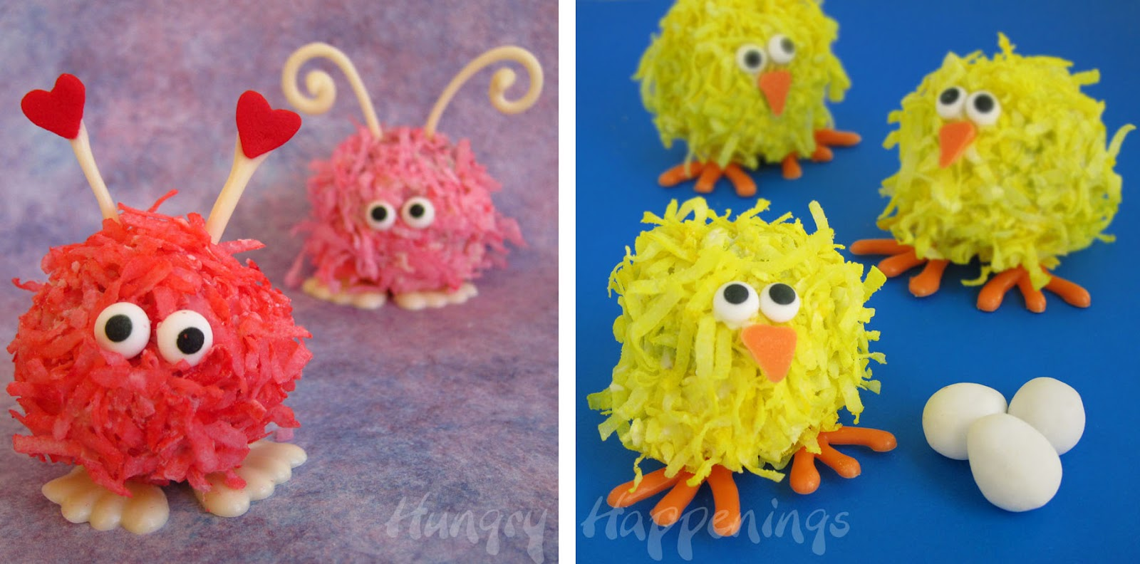 Mini Monster Cheese Balls for Halloween with Video Tutorial
