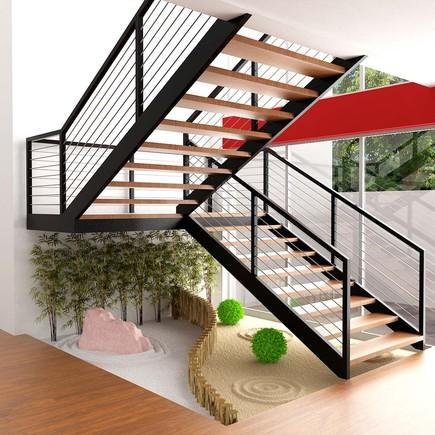 Construindo minha casa clean decora o embaixo de escadas for Muebles de madera para debajo de la escalera