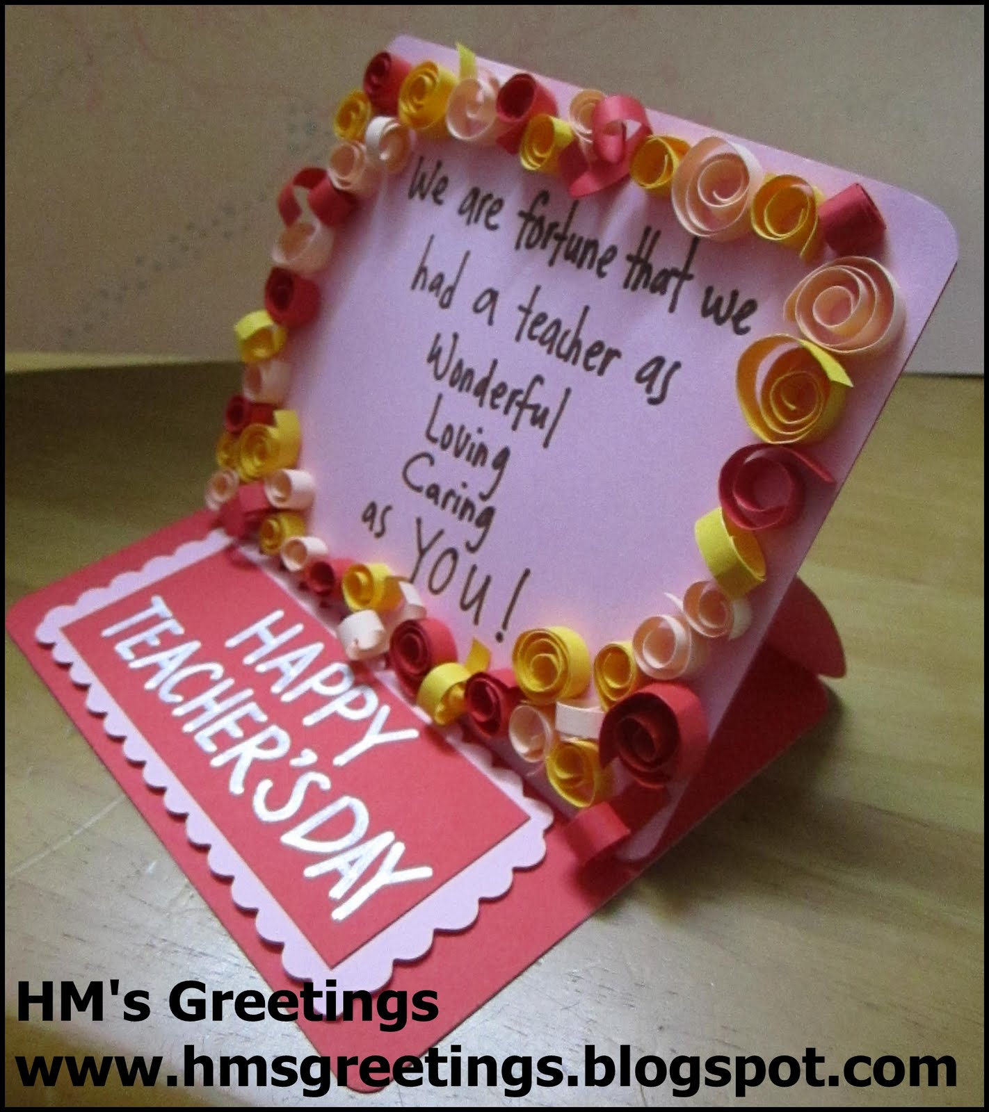 Hms greetings may 2011 happy teachers day card 1 kristyandbryce Image collections