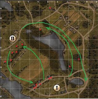 тактика на карте малиновка World of tanks