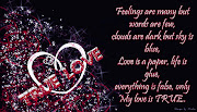 True love quotes for you ! True love feelings picture ! true feelings