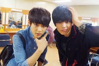 Foto Minhyuk dan Sungjae