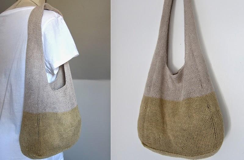 Mes favoris tricot crochet mod le gratuit un sac d 39 t - Sac en tricot a faire soi meme ...