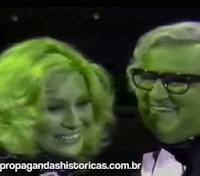 Propaganda da linha Philco de 1983 - Chacrinha e outras celebridades da época