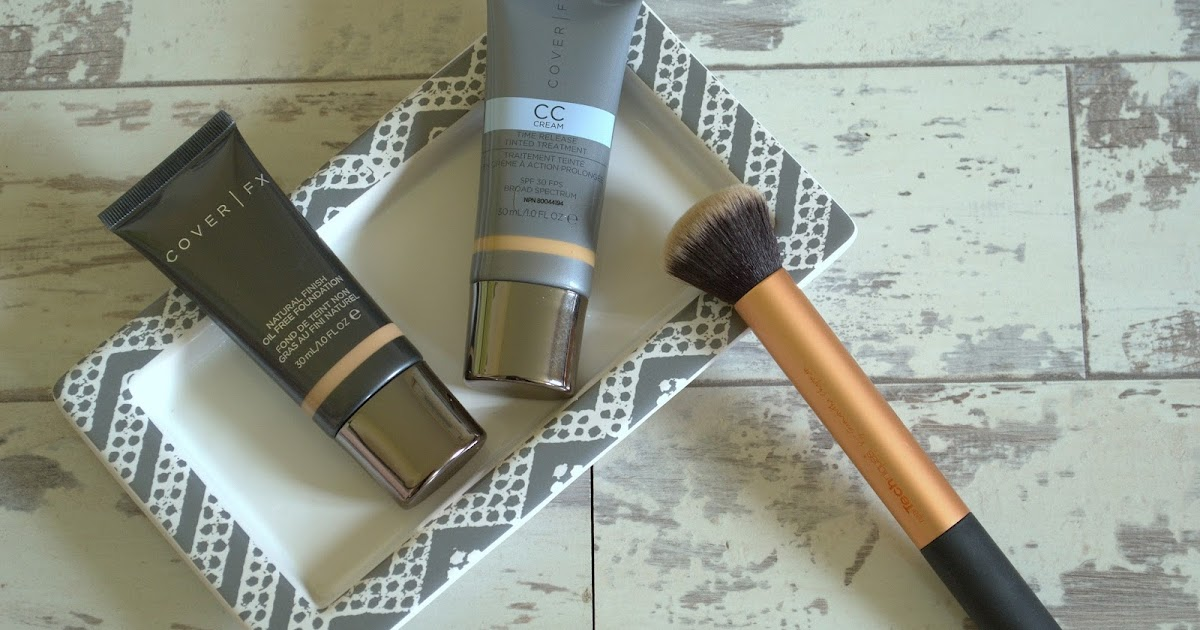Cover Fx Natural Finish Oil Free Foundation Review