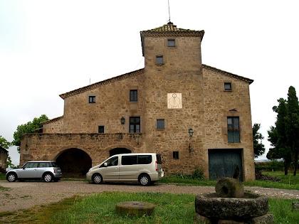 Façana principal de Palau de Biure