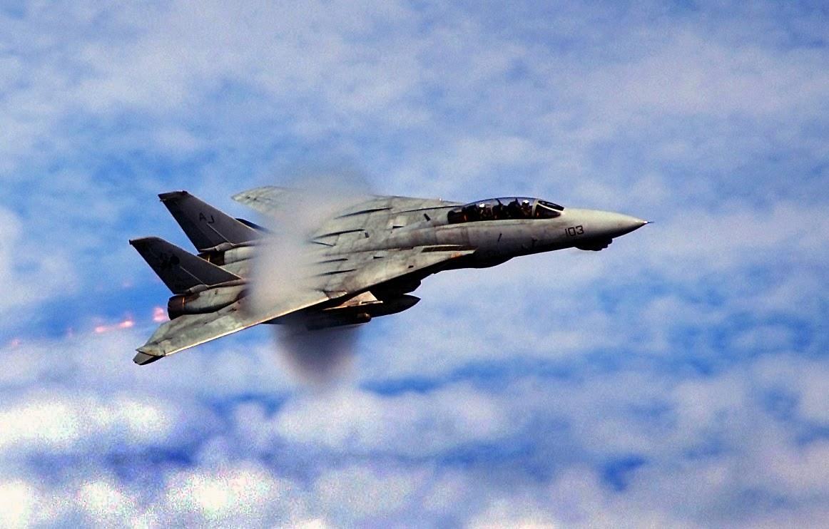 F-14 Sonic Patlama