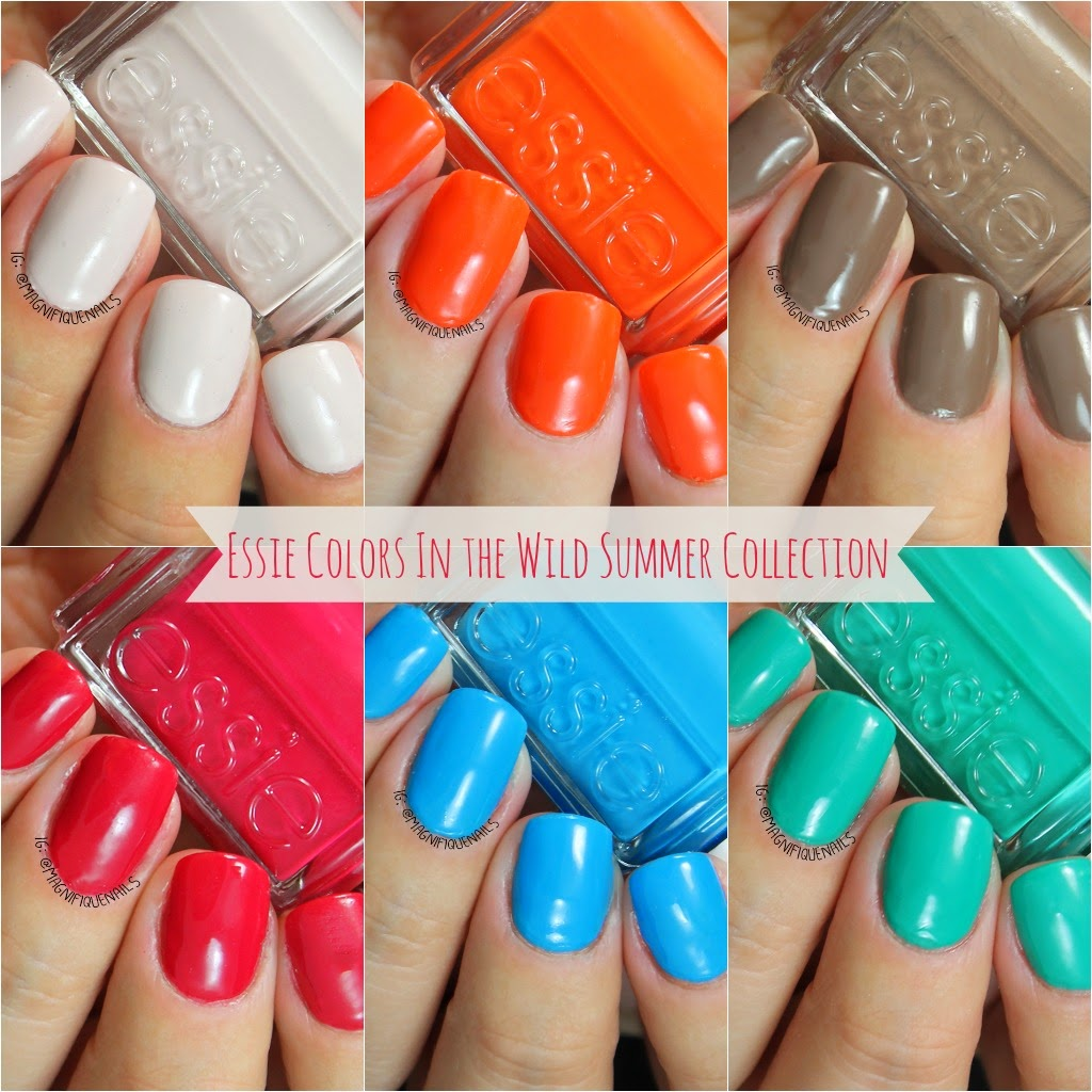 Magically Polished |Nail Art Blog|: Essie Colors In the Wild Summer ...