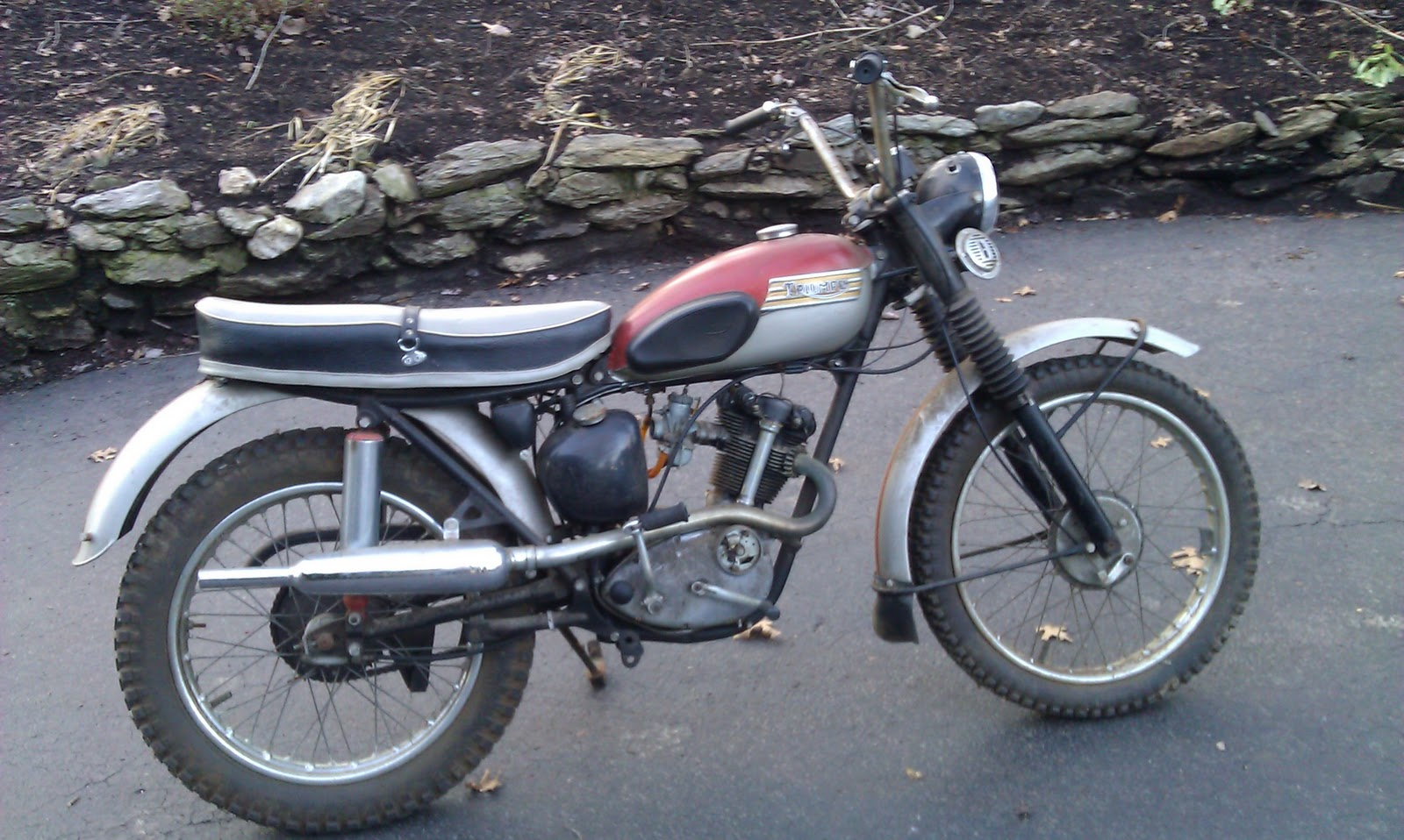 Barn Find Triumph Tiger Cub