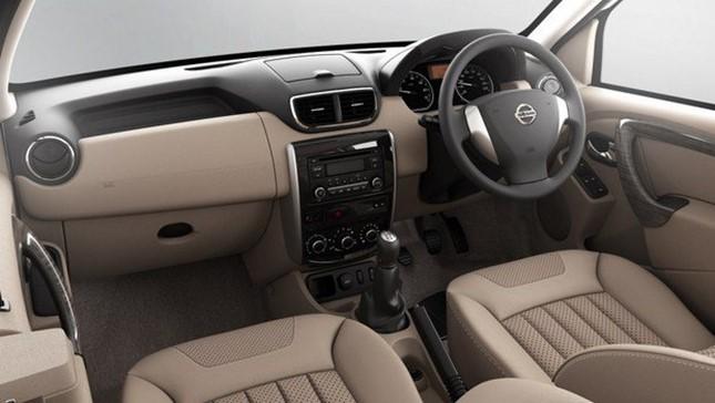 novo Nissan Terrano 2014 interior