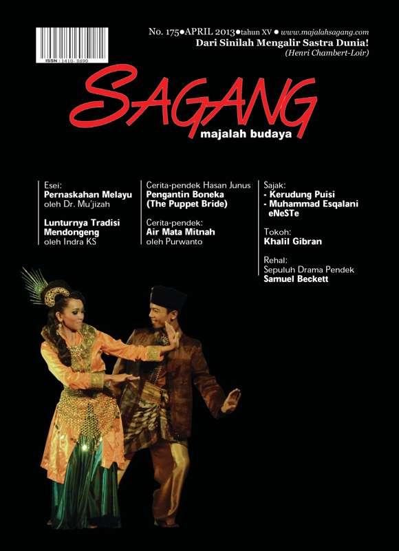 Majalah Seni dan Budaya Sagang edisi 175 Gratis Download
