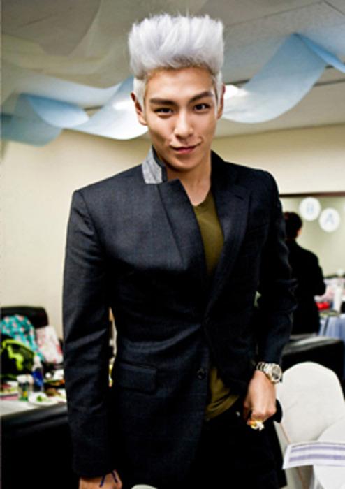 bigbang top brown hair - photo #7