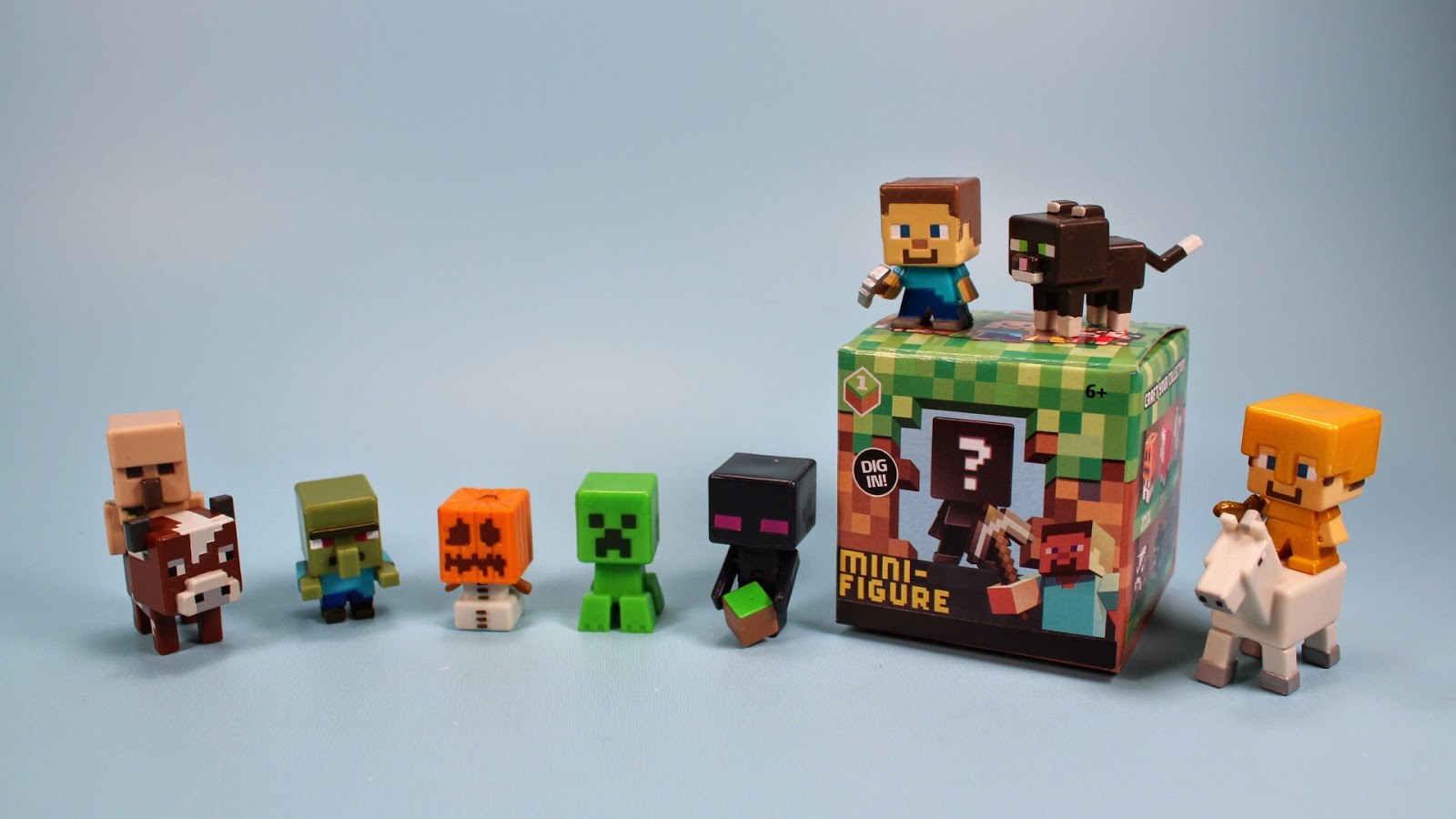 Toy Mystery Box : The toy museum minecraft mini figure blind mystery box