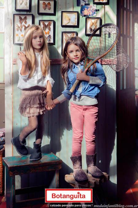 botas niñas invierno 2013