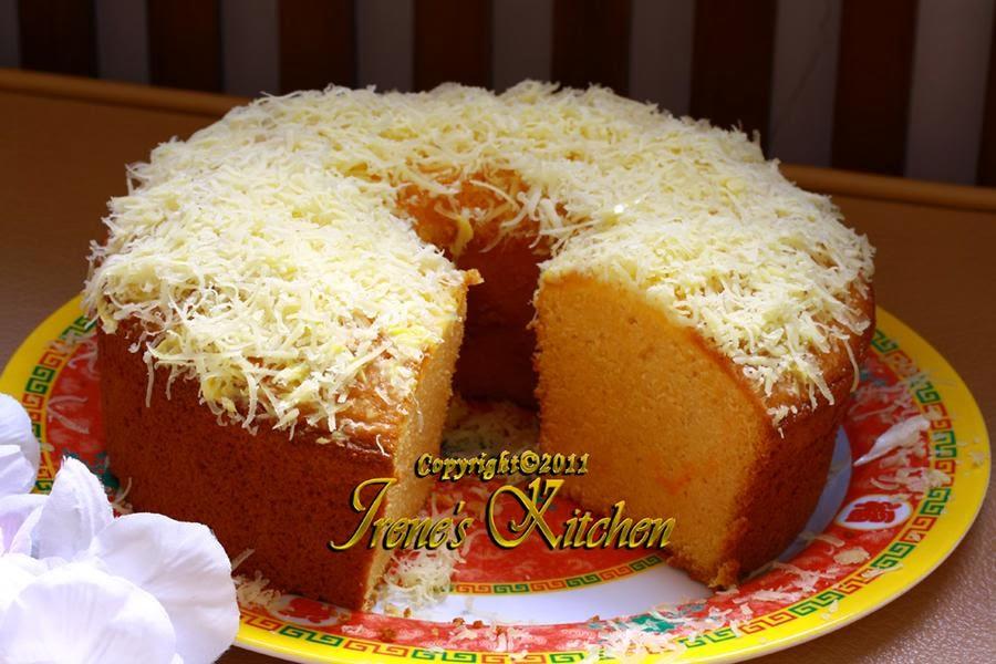 Resep Orange Cake Nutrisari