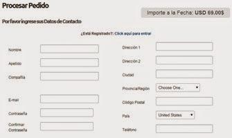 llenar formulario hosting