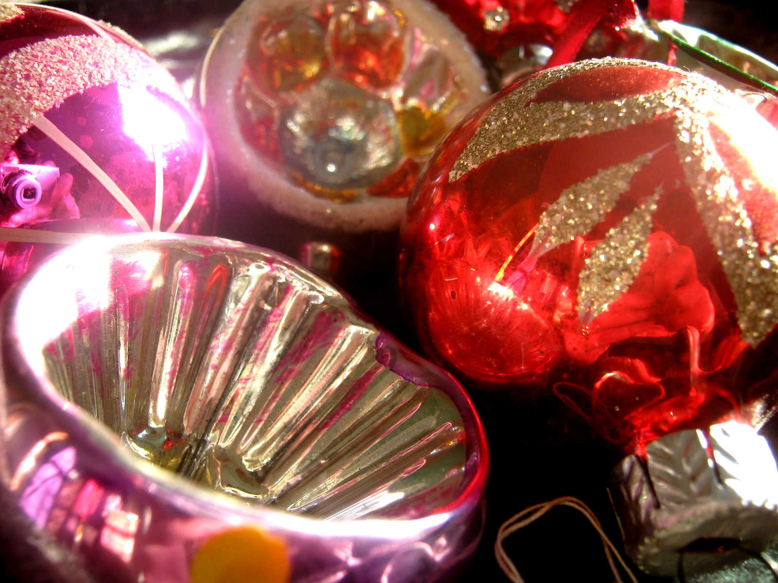 1950s Christmas Baubles