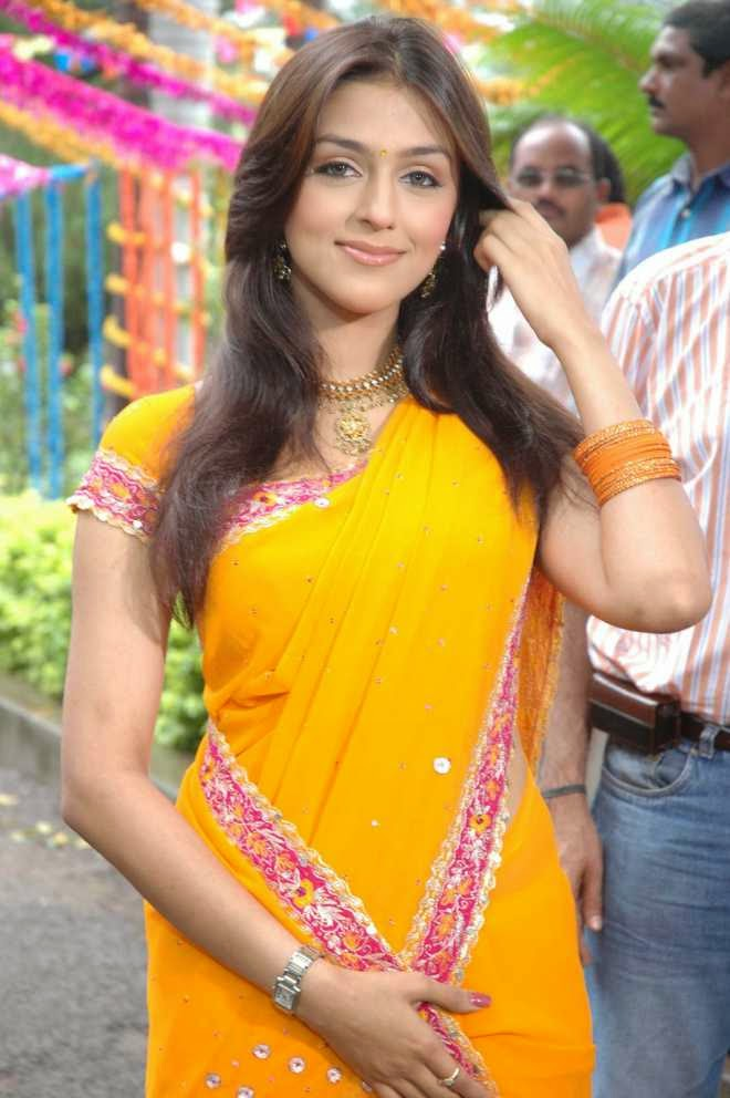Aarti Chhabria Latest Hot Photos in Yellow Designer Saree