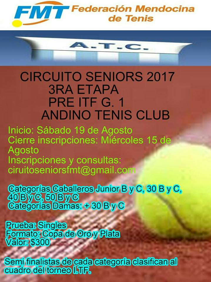 QUALY ITF SENIORS G1 COPA ANDINO