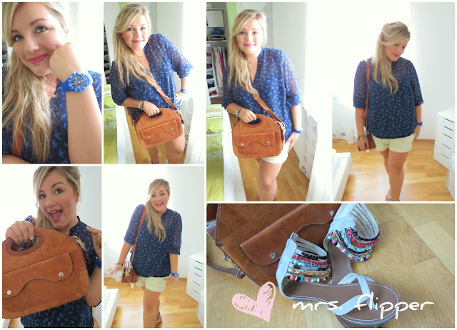 "Outfit of the Day – ""blue"""
