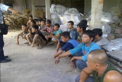Korban Buruh diperbudak di Tangerang