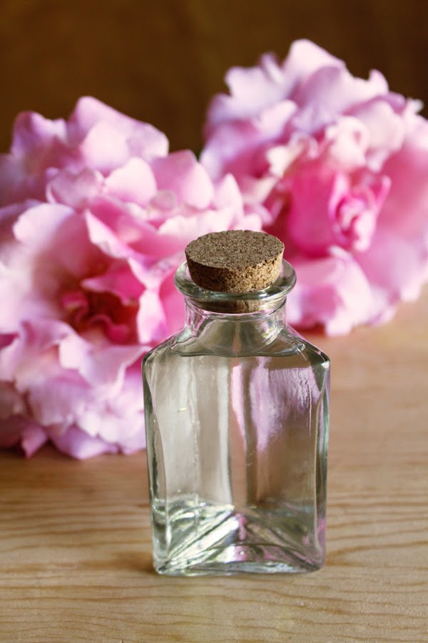DIY rose water (can be used as a facial toner & to flavor everything from cookies to cocktails)