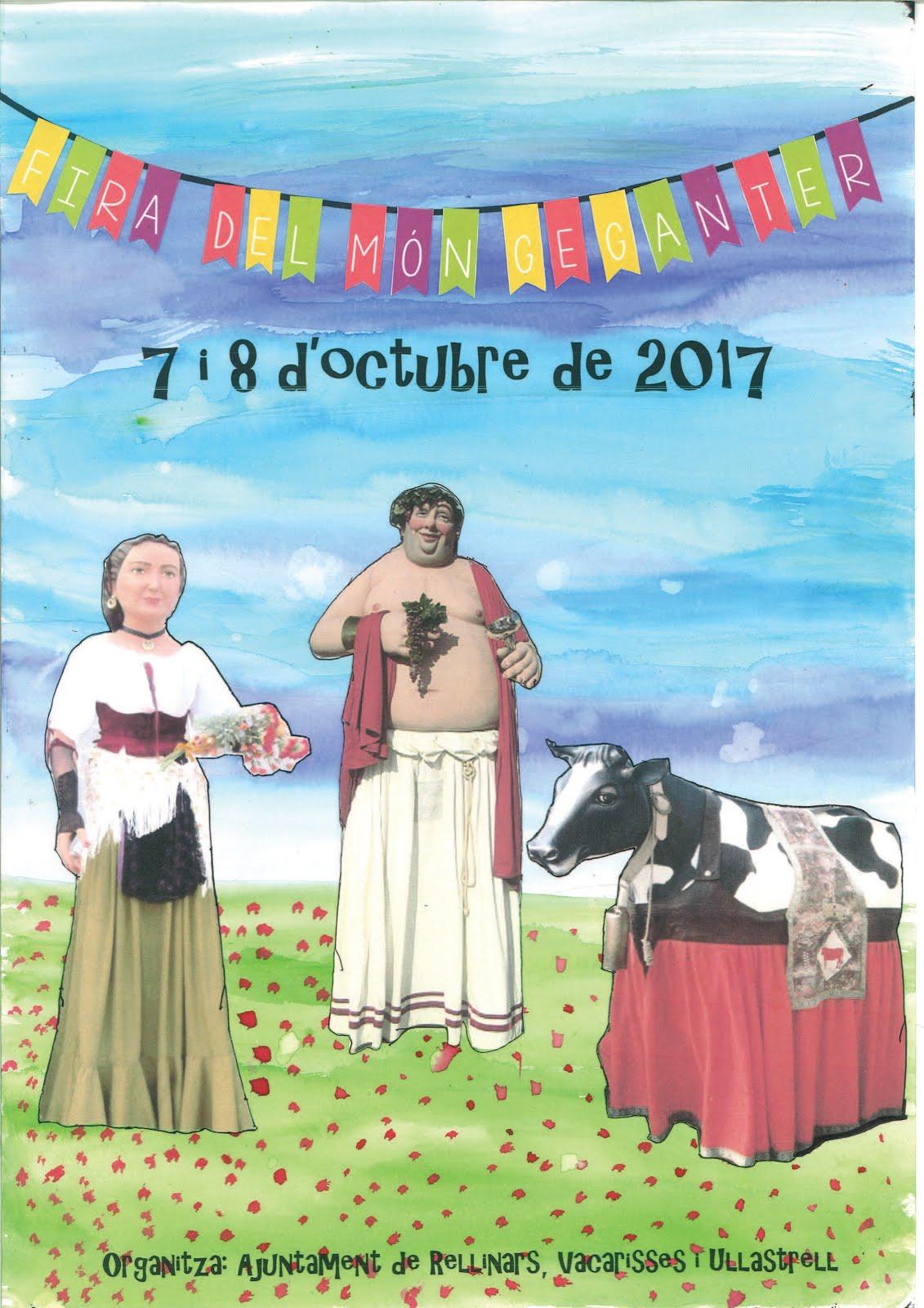 JA TENIM CARTELL DE LA XI FIRA DEL MÓN GEGANTER