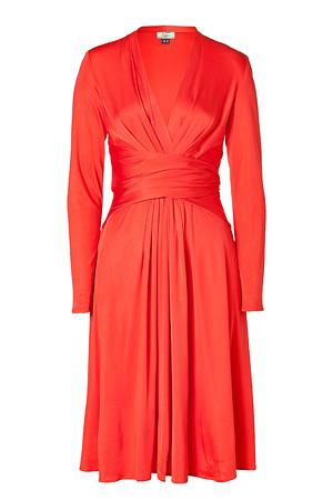 Red Issa London Kate Middleton engagement dress