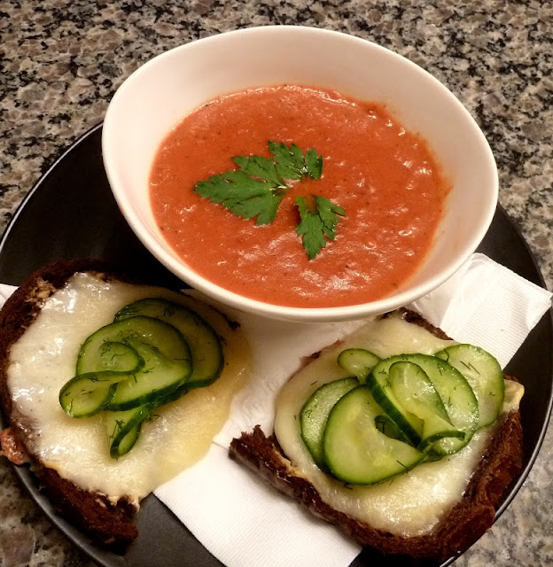 Cracked Pepper: Tomato Soup and Grilled Cheese - All Grown Up