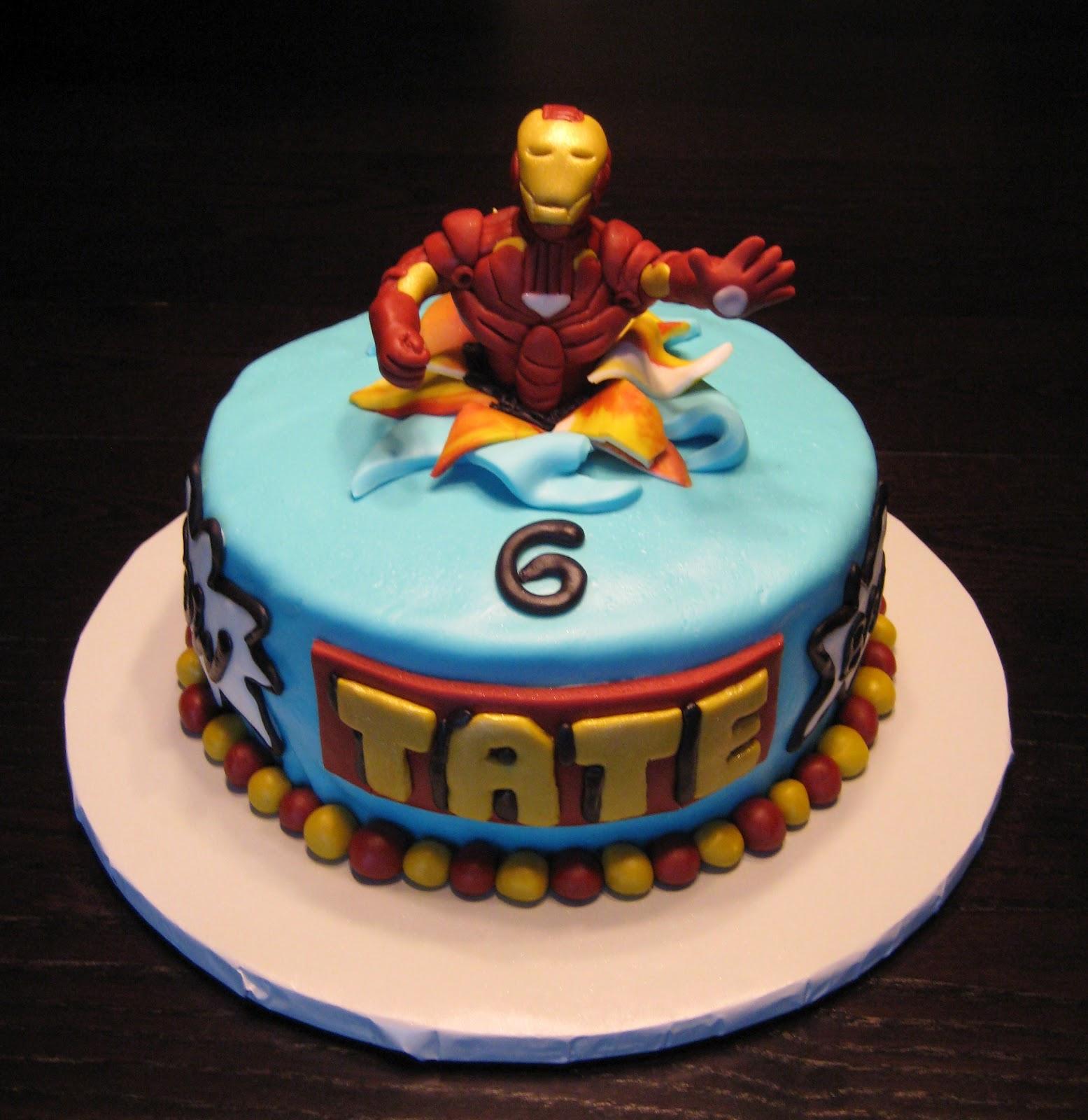 Simple Cake Decoration For Man : Fazendo a Minha Festa Infantil: Ideias de Bolos Homem de ...