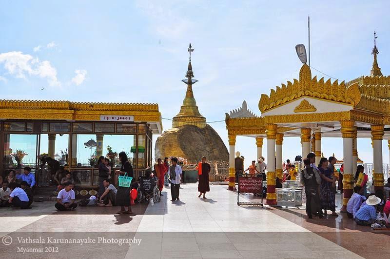 Kyaiktiyo Pagoda | Golden Rock, Myanmar