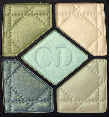 Dior Birds of Paradise Summer 2013 Peacock 5-Couleurs Eyeshadow Palette