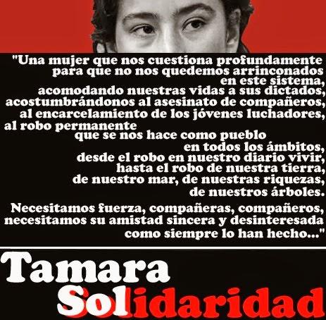 TAMARA SOL FARIAS A LA CALLE!!!