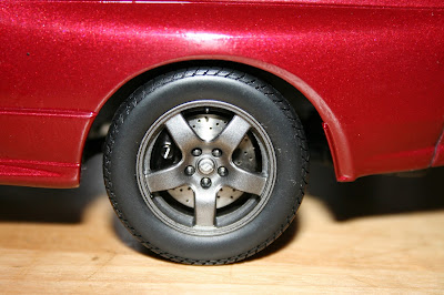 Kyosho Model Nissan Skyline Rear Brakes