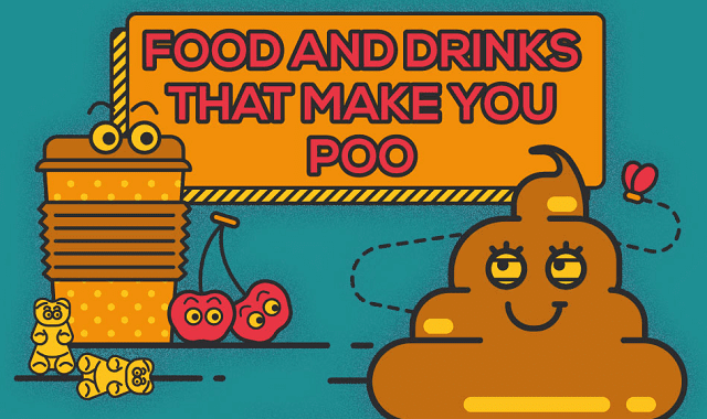 Food and Drinks That Make You Poo