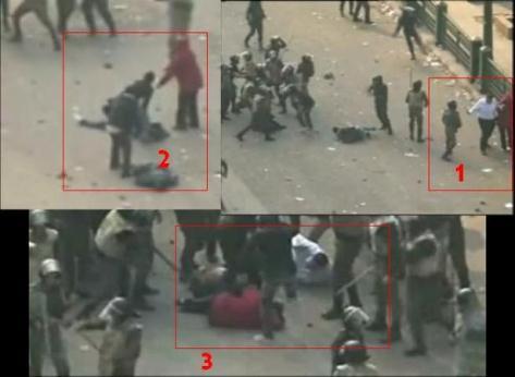 Kekejaman tentera Mesir terhadap wanita