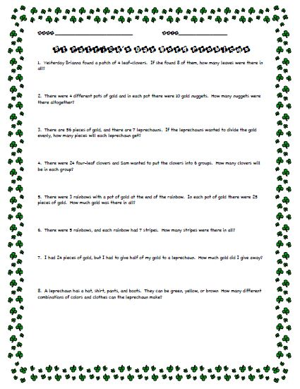 Math Worksheets For Grade 4/page/2 | Search Results | Calendar 2015
