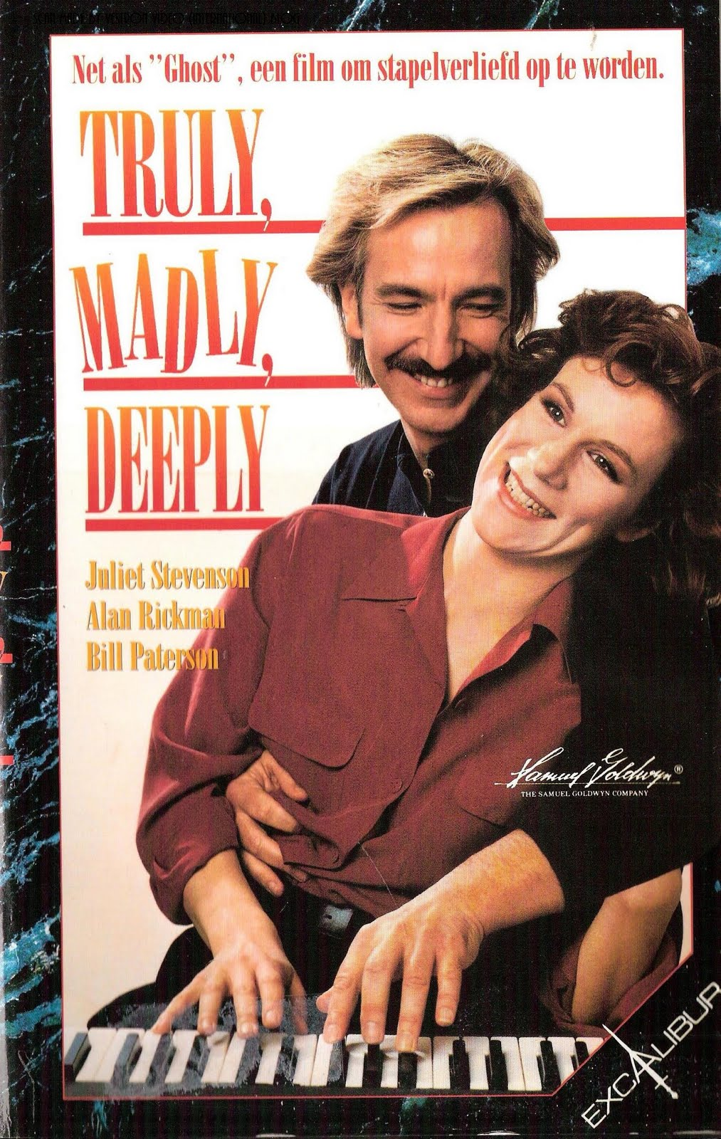 a paper on the movie truly madly deeply My information about the afterlife comes from anthony minghella's truly, madly, deeply, a truly odd film, maddening, occasionally deeply moving  then the movie .