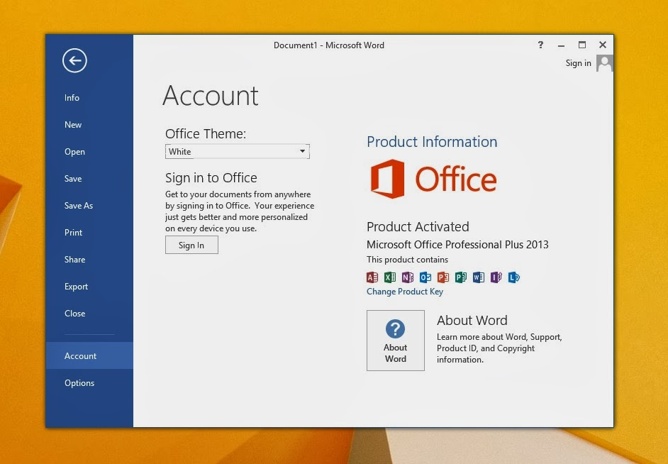 aktivasi office 2013 di windows 7