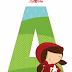 Alfabeto de Caperucita Roja.