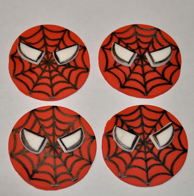 Spiderman cupcake toppers by lollipopparty on etsy picture - Awesome Cake Designs And Ideas For That Special Event