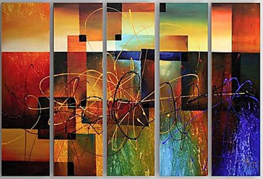 Cuadros pinturas oleos cuadros bonitos abstractos for Fotos de cuadros abstractos minimalistas