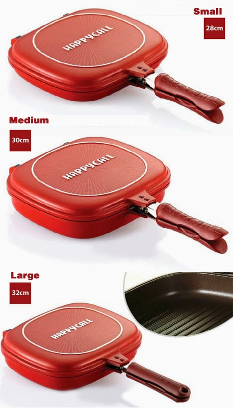Happy Call Non Stick Double Sided Magic Pan