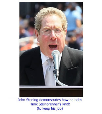 john sterling sucks steinbrenner dick