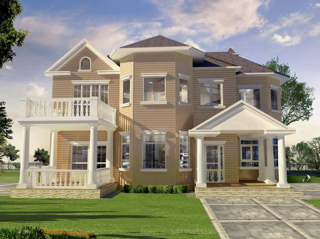 Exterior home design collection home decorating ideas for Exterior design homes
