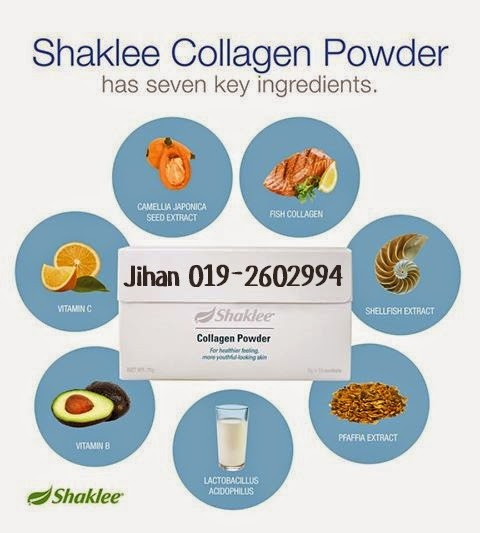 7bahan utama shaklee collagen