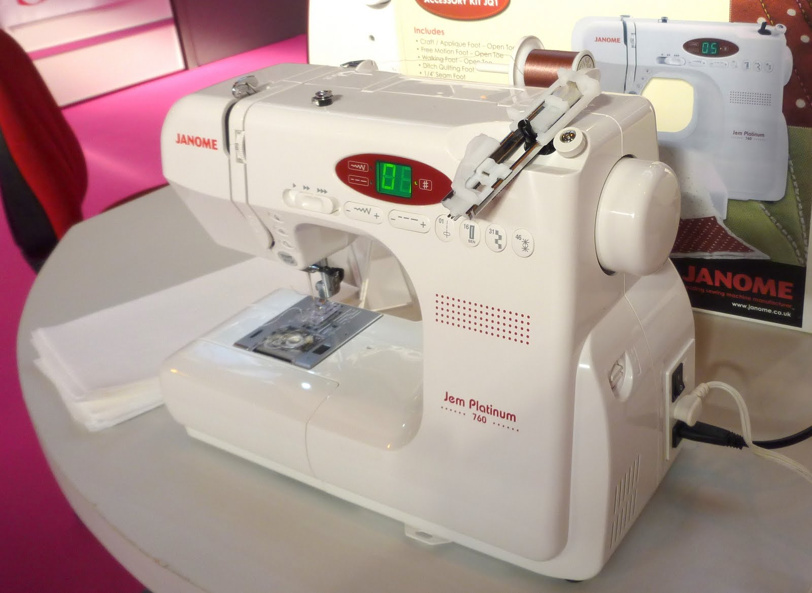 The sewing cafe will be open every Beginner Sewing Machine Table